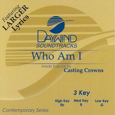 $7.99 • Buy Casting Crowns -   Who Am I  -  Accompaniment / Performance Track – New