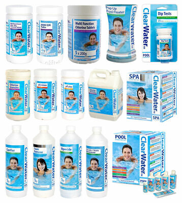 Bestway ClearWater Lay-Z-Spa, Swimming Pool, Spa & Hot Tub Chemicals & Kits CW • 14.89£