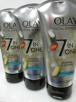 $23.99 • Buy Olay Total Effects Revitalizing Cream Facial Cleanser - 5 Oz Each / Pack Of 3