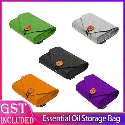 AU7.29 • Buy 5 Colour Essential Oil Case Travel Carry Storage Aromatherapy Hand Bag 10ML