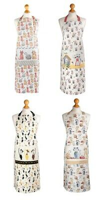 Spotted Dog Cotton Aprons With Pocket Cooking Baking Kitchen Ladies Apron Women  • 14.99£