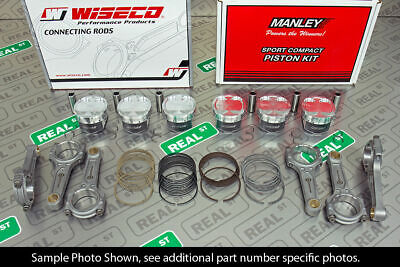 $ CDN2581.70 • Buy Manley Turbo Tuff Pistons Wiseco Boostline Rods Supra For 2JZ-GTE 86.75mm 10.0:1