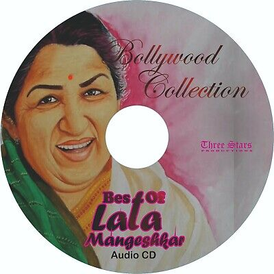 Best Of Lata Mangeshkar- Bollywood Hits- Audio CD- Kabhi Kabhi, Lag Ja Gale Etc. • 7.99£