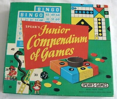 Junior Compendium Of Games 1970's/80's By Spears • 8£