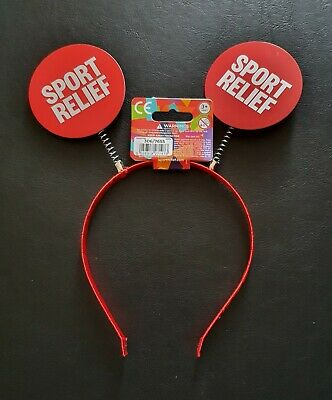 £8.99 • Buy Brand New Official  Comic Relief/sport Relief 2020 Deely Boppers(same Day Dspch)