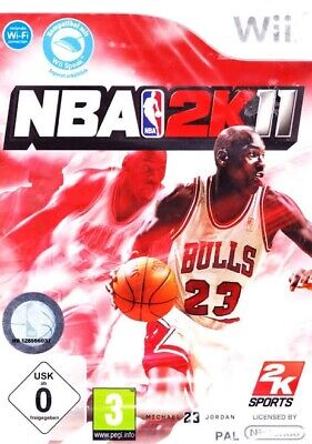 AU5 • Buy NBA 2K11 2011 Nintendo Wii Game. Feat. Michael Jordan, By 2k Sports.