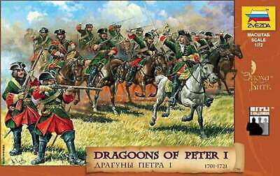 Zvezda Dragoons Of Peter The Great 1:72 - Model Kit Z8072  • 10.99£