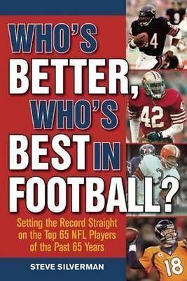 £4.57 • Buy Who's Better, Who's Best In Football?: Setting The Record Straight On The Top 65