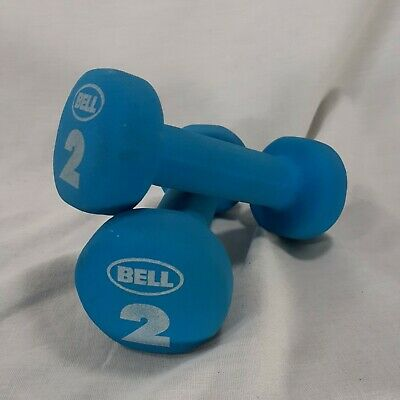 $ CDN19.76 • Buy  2 Lb Dumbbell Hand Weights Set Bell Blue Fitness Training Gym Bodybuilding