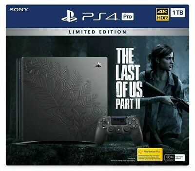 AU1199 • Buy Limited Edition The Last Of Us 2 PS4 Sony PlayStation 4 Pro 1TB Console Preorder