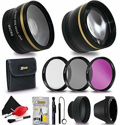 AU106.76 • Buy 72mm Lens And Filters Accessory Bundle Kit F/ Sony E PZ 18-105mm F4 G OSS