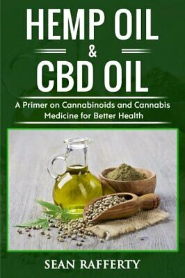 Hemp Oil & CBD Oil By Sean Rafferty Paperback NEW Book • 8.40£