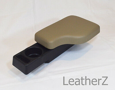 $166 • Buy BMW Z3 M Roadster Coupe Leather Armrest Cupholder! Beige Tan Leather!