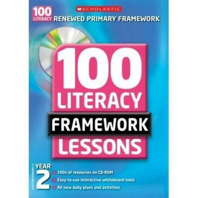 £2.68 • Buy 100 Literacy Framework Lessons: Year 2 By Eileen Jones (Mixed Media Product)