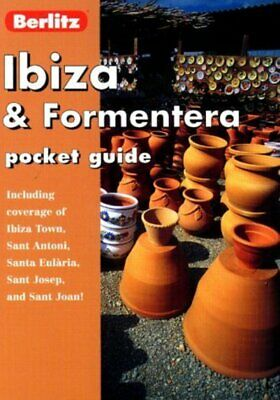 Berlitz Pocket Guide: Ibiza And Formentera (Paperback / Softback) Amazing Value • 2.21£