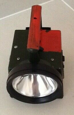 Ex Mod Railway Lamp - Army Signalling Torch - Bardic Type - Four Colour Beams T5 • 30£
