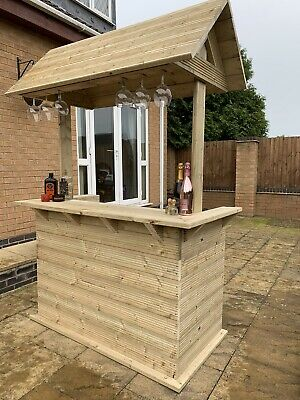 Garden Bar, Outdoor Bar, Free Delivery & Installation Within Leicestershire  • 550£