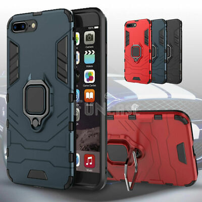 AU15.85 • Buy For IPhone 7 Plus 8 Plus Shockproof Ring Kickstand Slim Armor Defend Case Cover