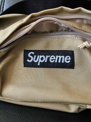 $ CDN193.51 • Buy Supreme Cordura Tan Waist Bag/fanny Pack Ss18 100% Authentic