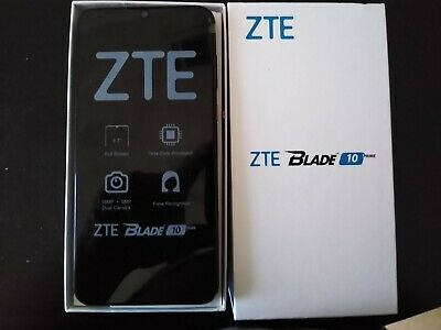 $160 • Buy ZTE Blade 10 Prime - 64GB - Black (Visible) (Dual SIM) BRAND NEW OPEN BOX