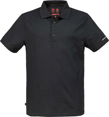 Musto Mens Evolution Sunblock Short Sleeve Ribbed Collar Polo Shirt S-2XL • 43.49£