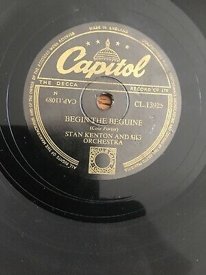 Stan Kenton & His Orch.-begin The Beguine/fascinating Rhythm/78/plays Great-ex. • 4.50£
