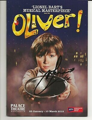 £40 • Buy Oliver 2012 Uk Tour Theatre Programme Signed By Samantha Barks Autograph
