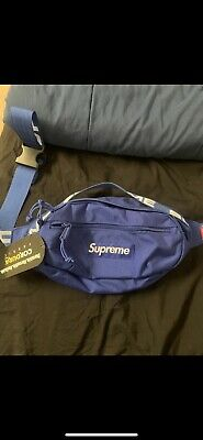 $ CDN179.69 • Buy Supreme Ss18 Blue Waist Bag  Bogo 100% Authentic