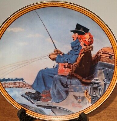 $ CDN112.98 • Buy Knowles Norman Rockwell Plates