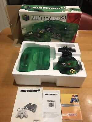 AU1299 • Buy Nintendo 64 Jungle Green Console Boxed And Complete AUS PAL - 60 Day Warranty