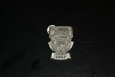 $26 • Buy 1989 Indy 500 Silver Pit Badge, #6782