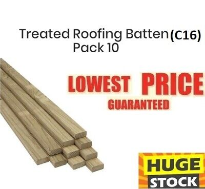 £48.37 • Buy Roofing Treated Batten C16 - Limited Delivery Options - Message Before Buy