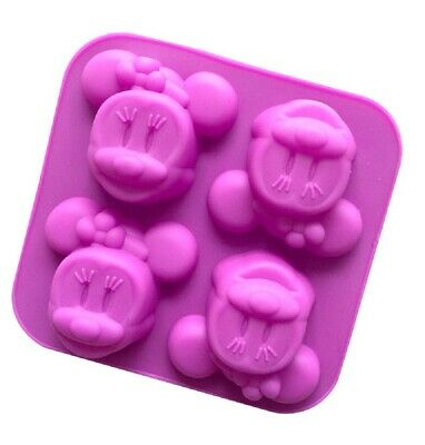 3D Cartoon Mouse Silicone Shaping Mould - Minnie Mouse Inspired Cake Jelly Mould • 9.73£