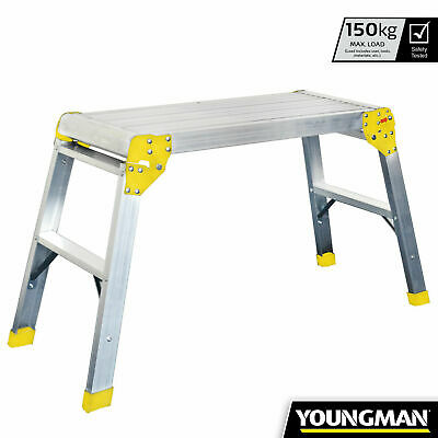 Youngman Odd Job Folding Platforms Bench Hop Step Ups Decorators Plasterers DIY • 45£
