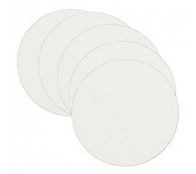 8  Inch - Greaseproof Circles - Round Baking Paper Tin Liners 20 Pack • 3£