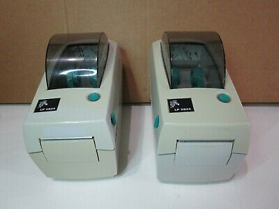 $49.99 • Buy (2) Zebra LP 2824 Thermal Label Printers / Tested To Power On Only