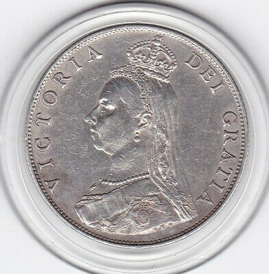 $0.99 • Buy Very  Sharp  1887   Queen  Victoria    Florin   (2/-)   Sterling  Silver   Coin