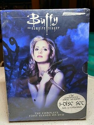 $9.95 • Buy Buffy The Vampire Slayer - The Complete First Season DVD 3 Disc Sealed! New