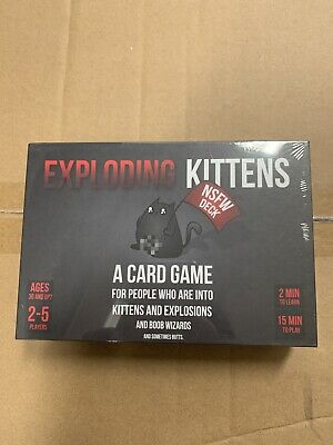 AU19.88 • Buy Exploding Kittens NSFW Edition (Adults Only)