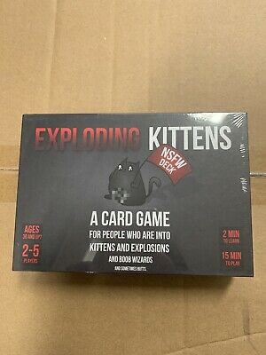 AU19.98 • Buy Exploding Kittens NSFW Edition (Adults Only)