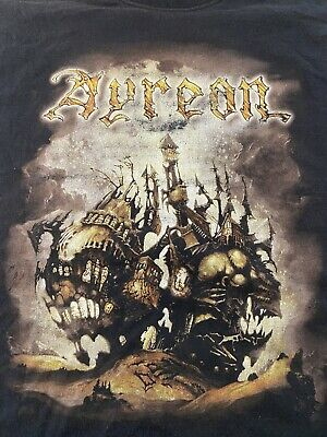 $ CDN48.30 • Buy VINTAGE! Ayreon  Into The Electric Castle  Band Tour Rare Graphic Metal T-Shirt
