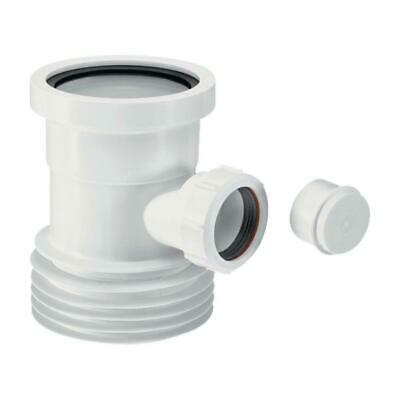 McALPINE 3½ /90mm X 4 /110mm Boss Pipe For Use With WC Connectors WC-BP1 • 15.30£