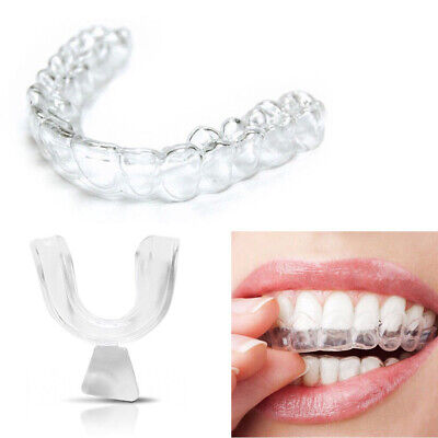 AU8.65 • Buy 4pcs Silicone Night Mouth Guard Teeth Clenching Grind Dental Bite Sleeping Care