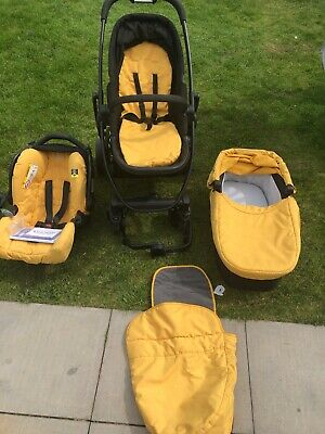 Graco Travel System - Seat, Frame, Carry Cot • 50£