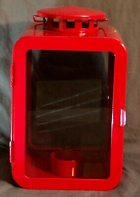 $15 • Buy IKEA Vinter 2018 Red Lantern For Tealight Holiday Decor Metal NEW