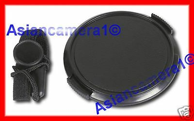 $10.99 • Buy Front Lens Cap For OLYMPUS E10 E20 E20n + Keeper Holder Snap-on Dust Safety Cap