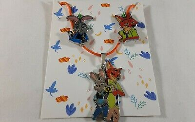 Zootopia Necklace With 3 Interchangeable Charms • 9.66£