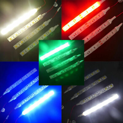 $8.99 • Buy 8x 10cm 5050 LED Flexible Strip Light IP65 Decorative For Car Truck Motor