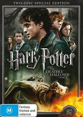 AU12.99 • Buy Harry Potter And The Deathly Hallows - Part 2 - Limited Edition Year 7, DVD