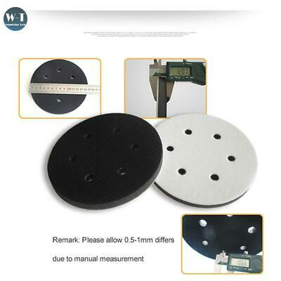 6 Holes Diameter Soft Buffer Sponge Interface Cushion Pad For Sanding Pads 150mm • 4.54£
